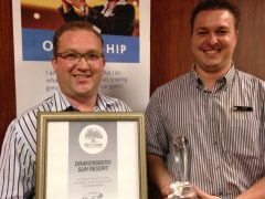 Drakensburg Sun Resort receives South Africa's first Heritage Diamond classification Award