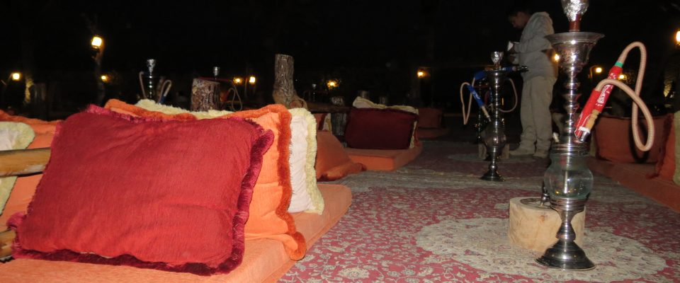 Dining in the Arabian desert