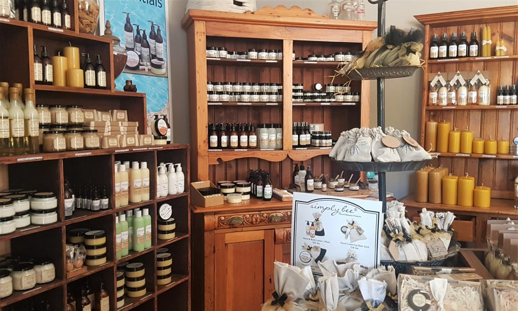 West Coast Simple Bee product display