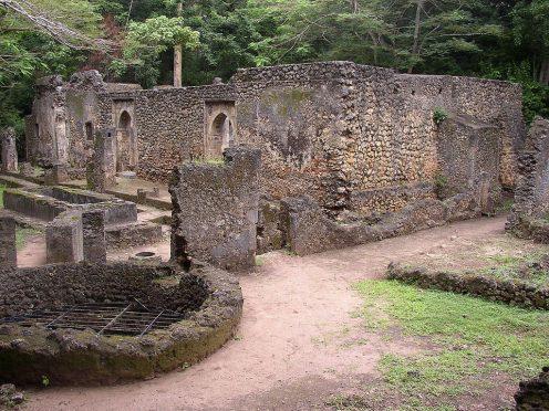Tourism in Kenya - Gedi Ruins