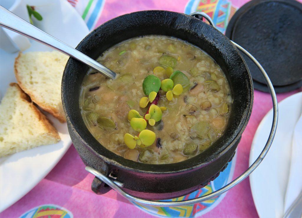 West Coast Khwa ttu spekboom soup