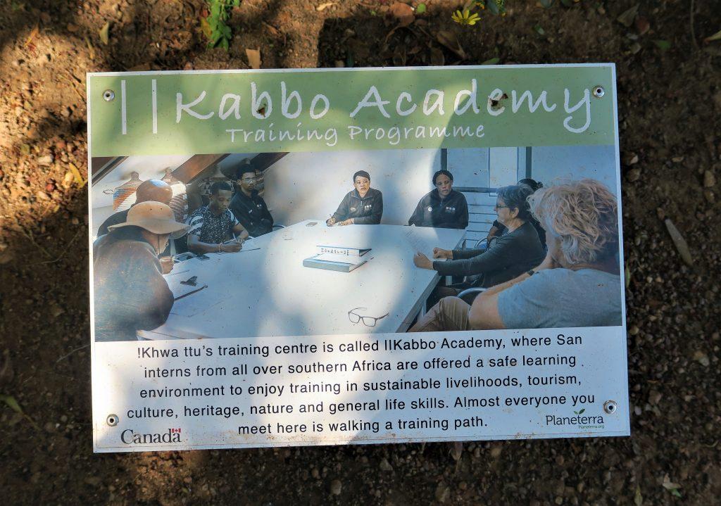 West Coast Khwa ttu Kabbo Academy