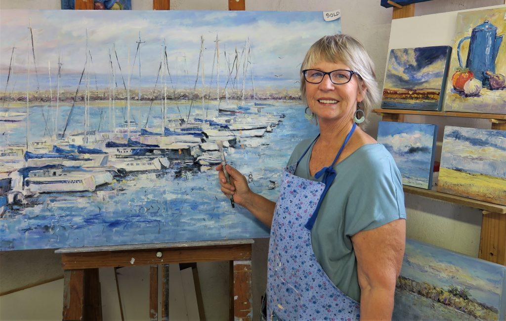 West Coast Marina Clunie artist