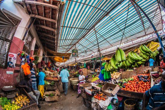 Tourism in Kenya - Local market in Lamu