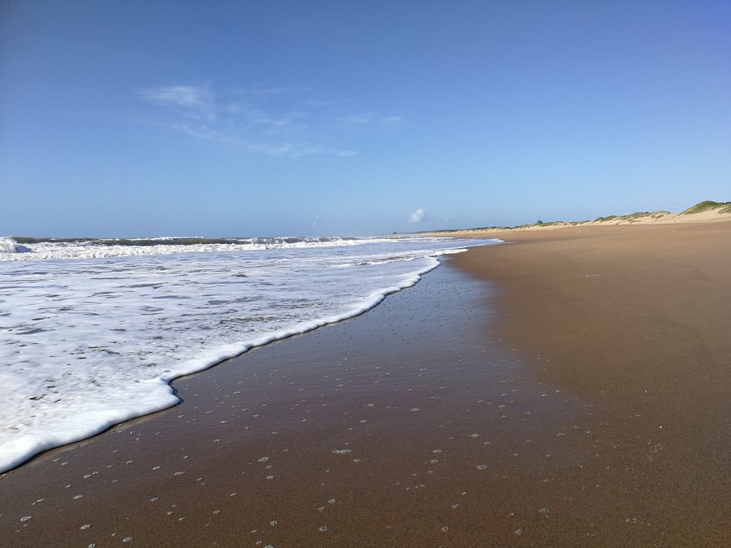 Mtunzini beach - pic credit Terry Stallard