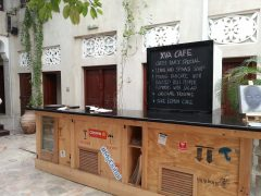 Lunch at the quirky XVA Café in Dubai's historic Al Fahidi district