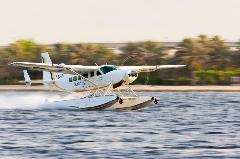 Seawings Seaplane Taking Off
