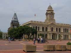 Port Elizabeth… explore the city centre on foot