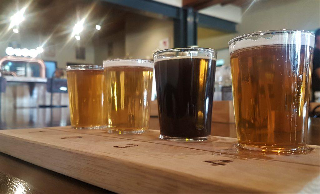 West Coast Charlie's Brewhouse tasting