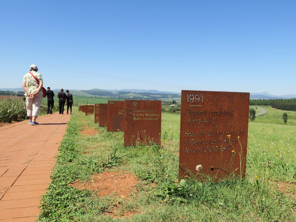 Mandela Capture Site in KZN Midlands near Brahman Hills