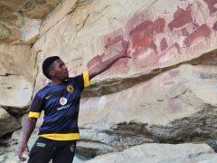 San Rock Art in KZN Drakensberg