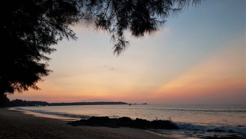 Sunset Khao Lak